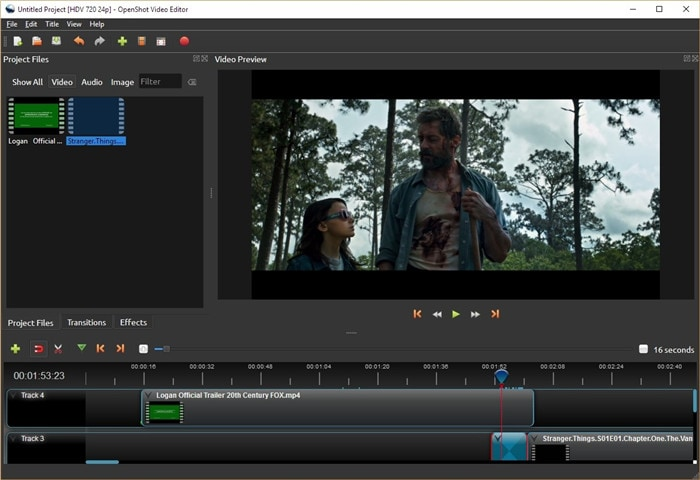 quik video editor with openshot