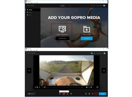 how to rotate gopro video
