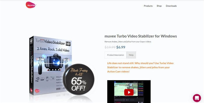 muvee turbo video stabilizer