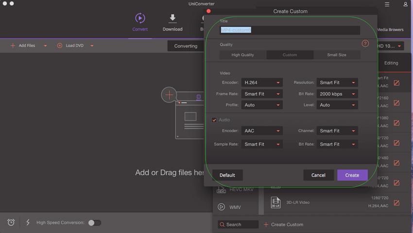 Make MP4 Files Smaller - custom