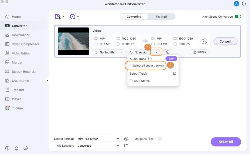 mute video on Mac