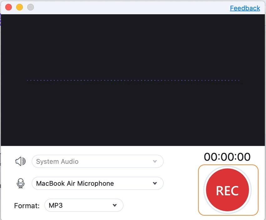start recording Spotify to MP3