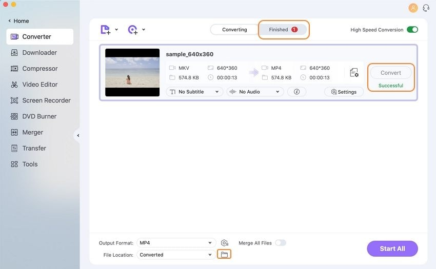 save muted videos on Mac