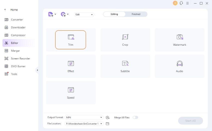 cómo editar un video