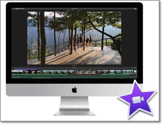 find the mov in imovie