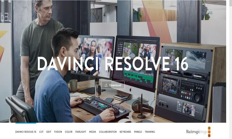 imovie for windows -DaVinci Resolve