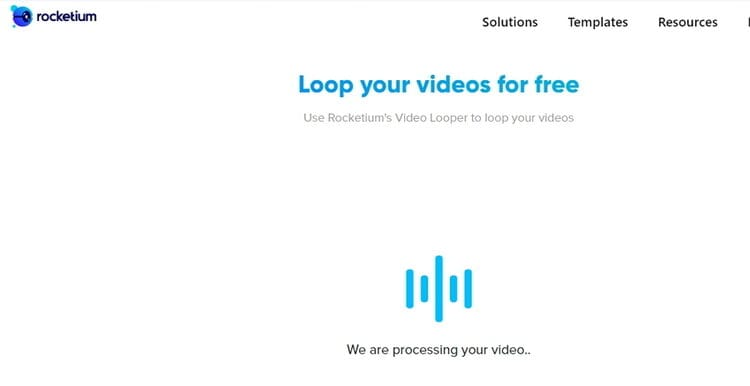 how to Make iMovie Loop video Online-Rocketium