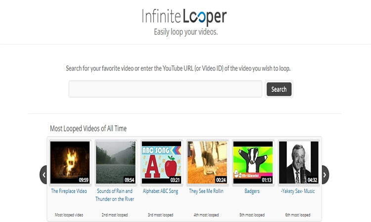 how to Make iMovie Loop video Online-InfiniteLooper