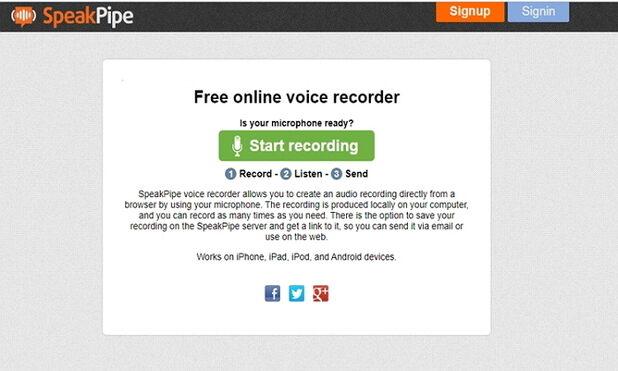 Make a Voiceover in iMovie Online-SpeakPipe