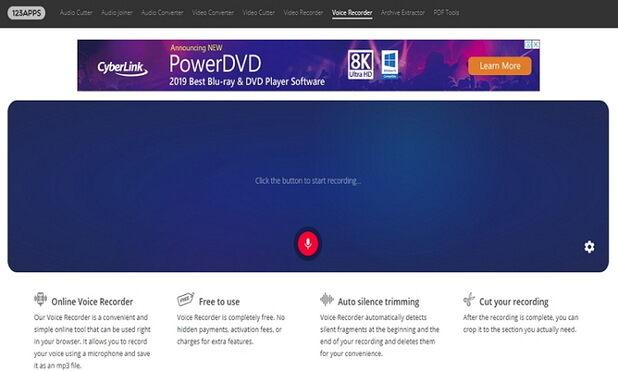 Make a Voiceover in iMovie Online-Online Voice Recorder