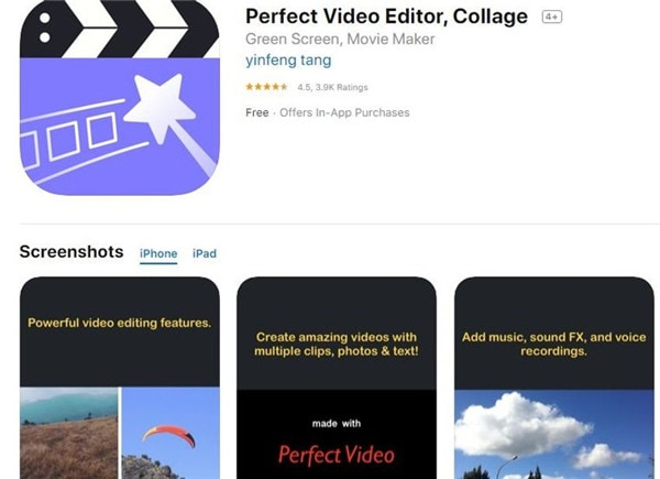 perfect video editor