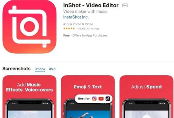 edit video brightness iphone