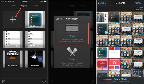 how to crop a video on iphone