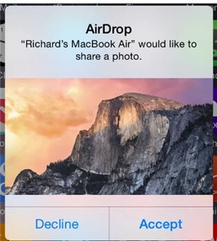 share screen mac to iphone