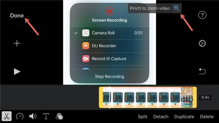 how to cut a video shorter on iphone