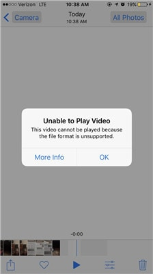 iphone video file format