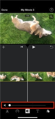 how to take sound off a video iphone