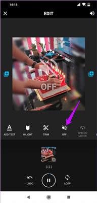 iphone video remove sound