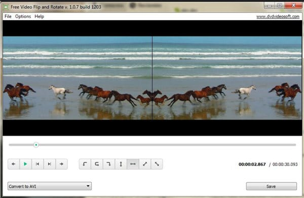 iphone video rotate on pc