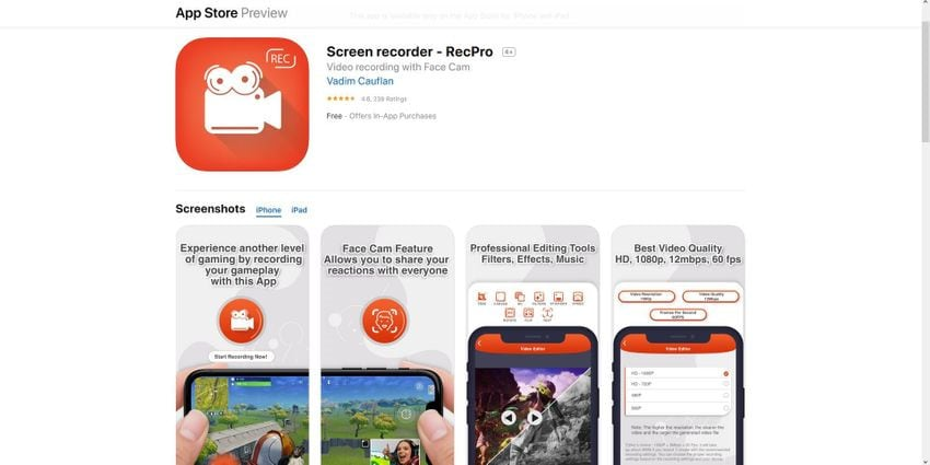 how to screen record on iphone 6