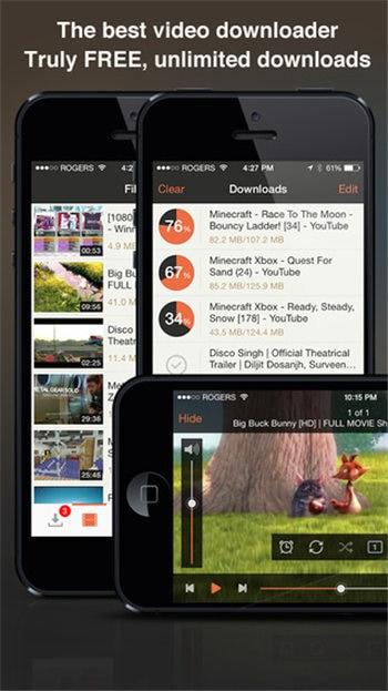 meilleure application de téléchargement de vidéos pour iphone
