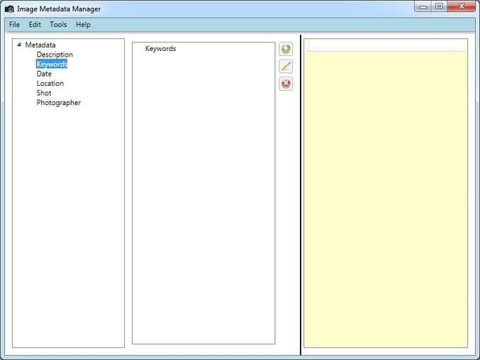 Image Metadata Manager - add metadata to M4V