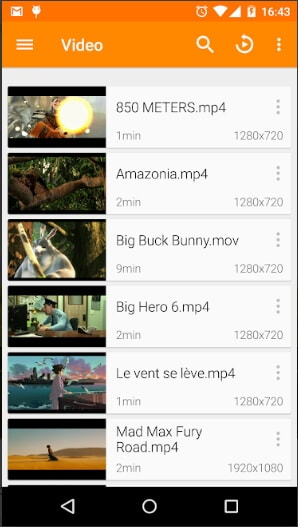 M4V player for Android - VLC