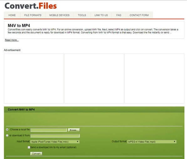 convert m2ts to avi online