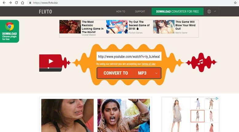 onlin youtube to itunes converter - FLVTO