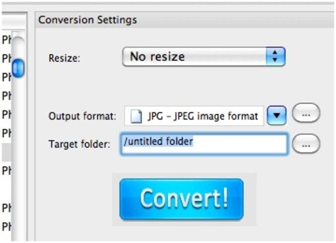 Convert TIFF to JPEG on Mac OS X