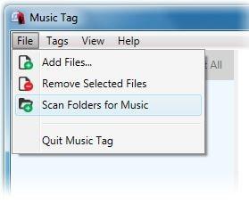 launch flac tag editor