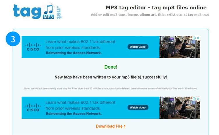 tag mp3 editor online