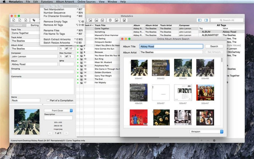 free video metadata editor mac
