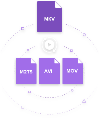 convert MKV to M2TS