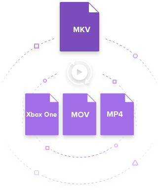 convert MKV to Xbox One