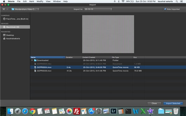 convert mkv to imovie