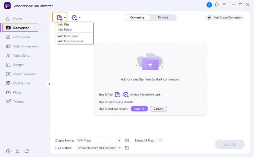 play mkv in vlc - add files