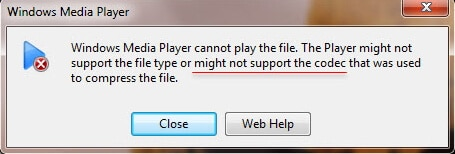 windows media player can't play mkv error