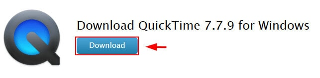 download QuickTime to play MOV on Windows