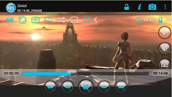 MOV player for Android - SPlayer