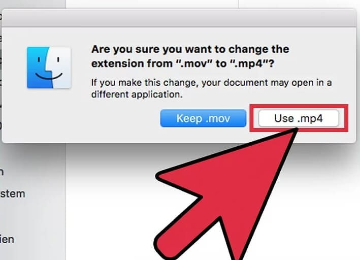 convert MOV to MP4 Mac with Quicktime