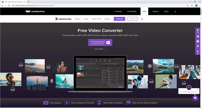 free video converter reduce mov file size