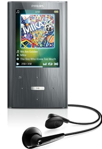 Philips GoGEAR Ariaz Bluetooth MP3 Player