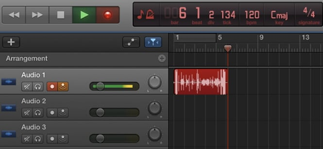 start recording voice