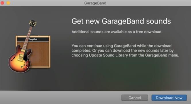 open garageband