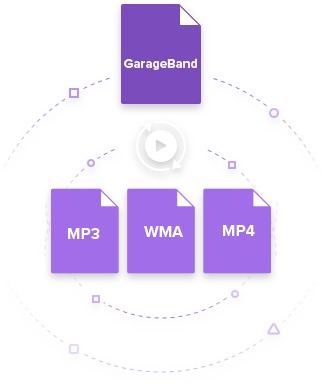 Export GarageBand File to MP3 on Mac