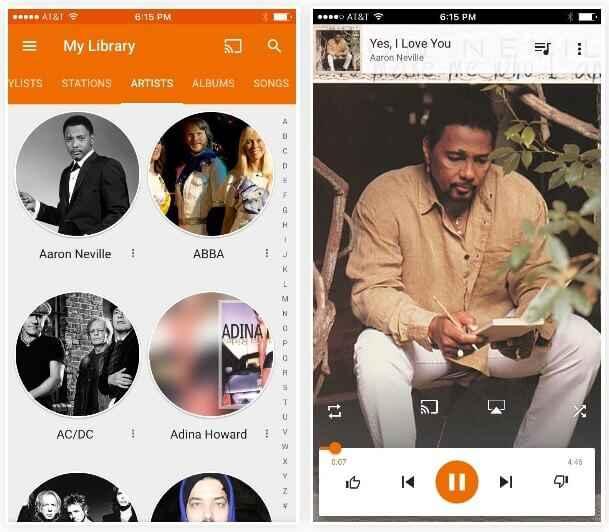 Transférer des MP3 avec de la musique Google