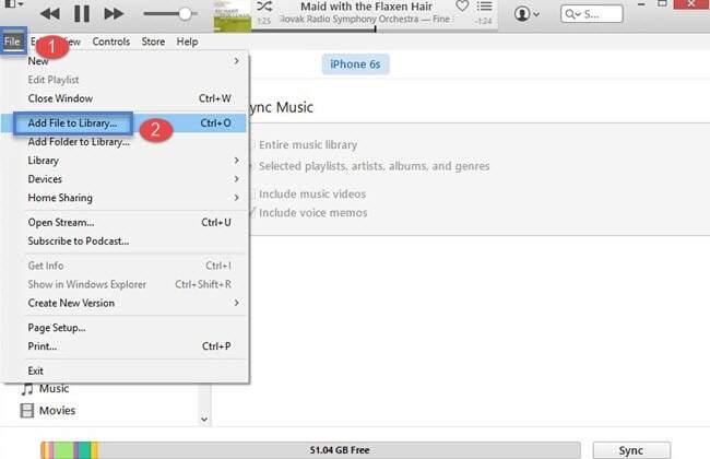 Ajouter MP3 à iTunes pour synchroniser