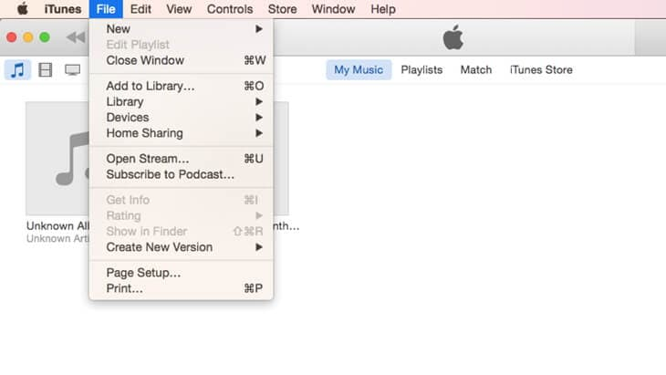 add mp3 file to itunes