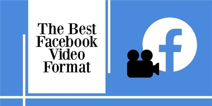 facebook video format